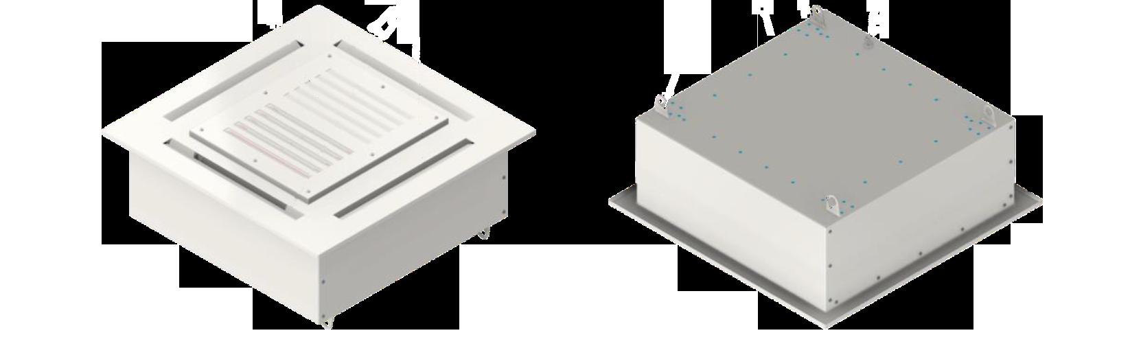 Обеззараживатель воздуха ТИОКРАФТ VR400 (потолочное  решение)